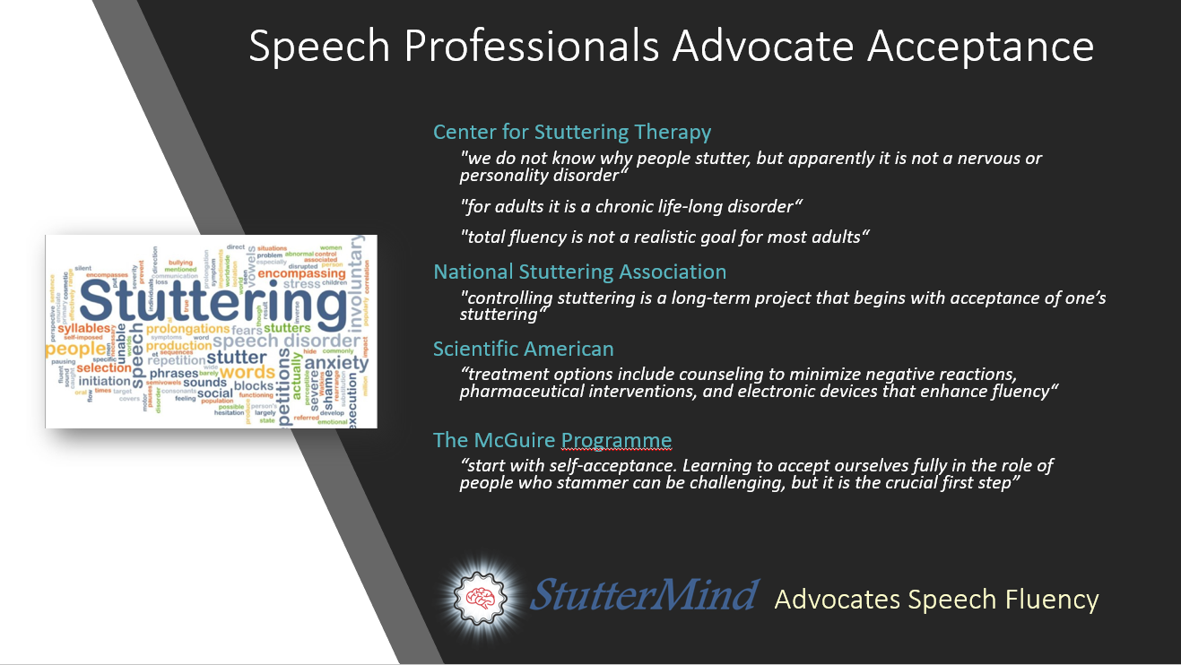 Speech Fluence Advocacy