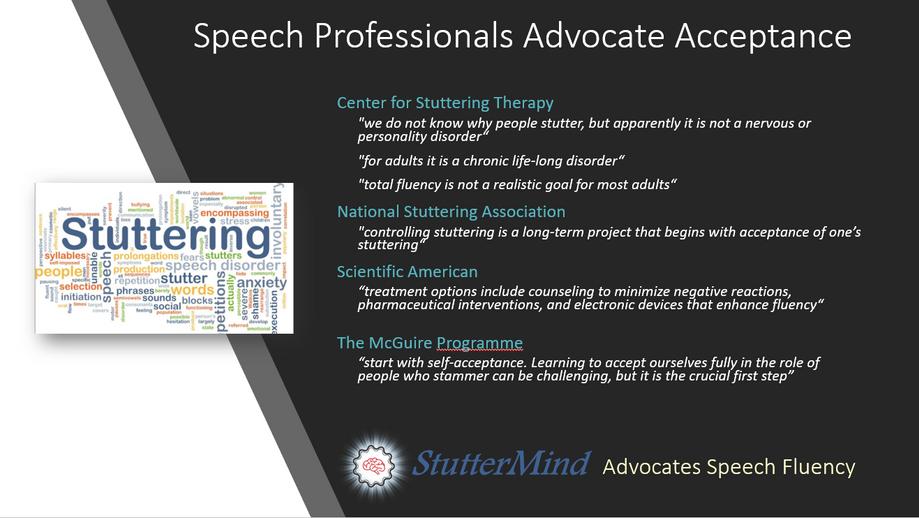 Speech Fluence Advocacy
