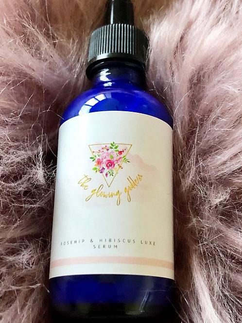 Rosehip & Hibiscus Luxe Facial Serum 2oz