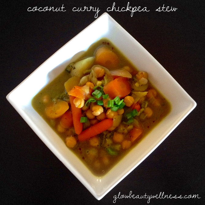 Detox Food: Coconut Curry Stew