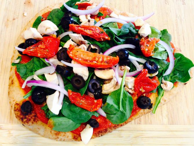 Delicious Veggie Pizza!