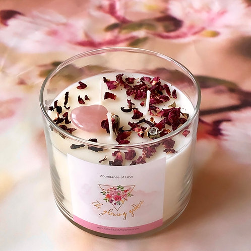 Abundance of Love (self love candle)