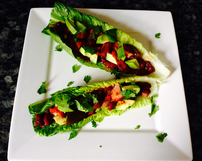 Cinco de Miyo & Mexican Lettuce Boats