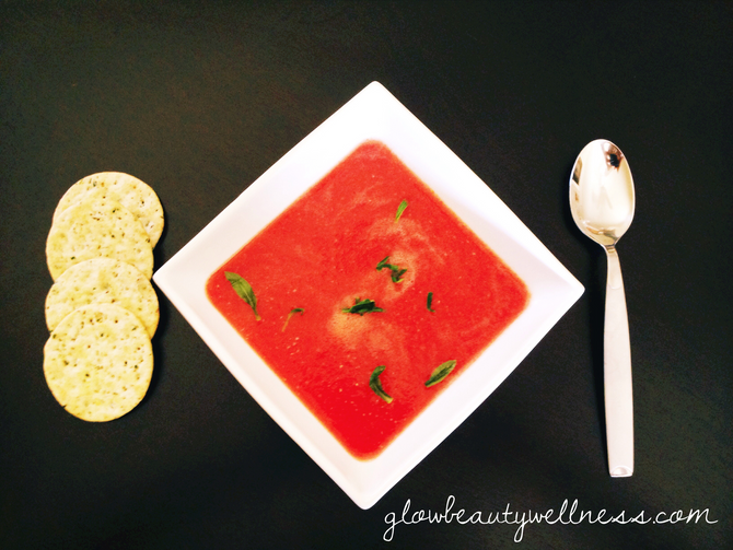 RAW Tarragon Tomato Soup