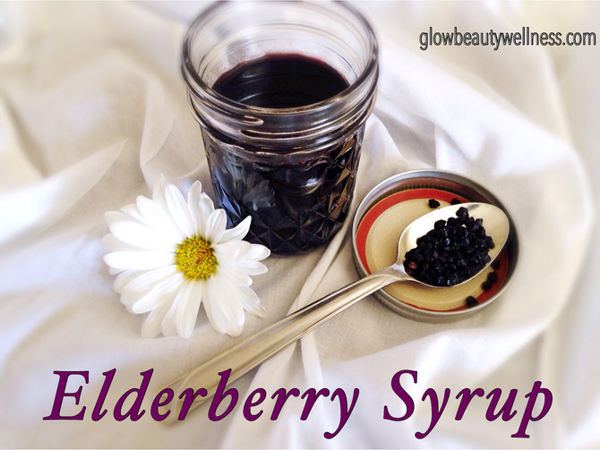 Elderberry Syrup Recipe - Gorgeous!