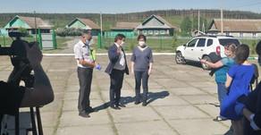 Министр культуры Республики Башкортостан посетила Белорецкий район.