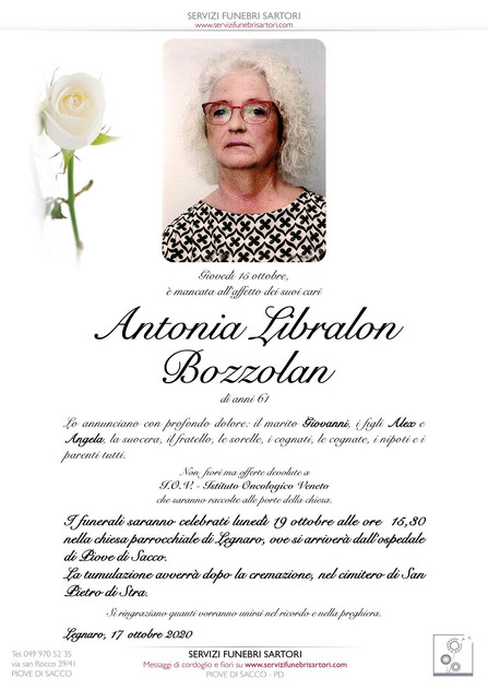 Libralon Antonia in Bozzolan