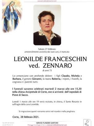 Franceschin Leonilde Zennaro