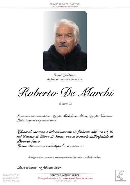 De Marchi Roberto