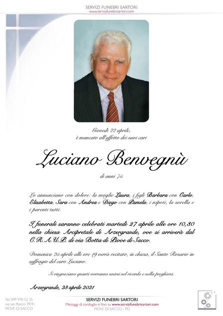 Benvegnù Luciano