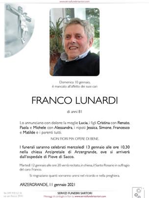 Lunardi Franco