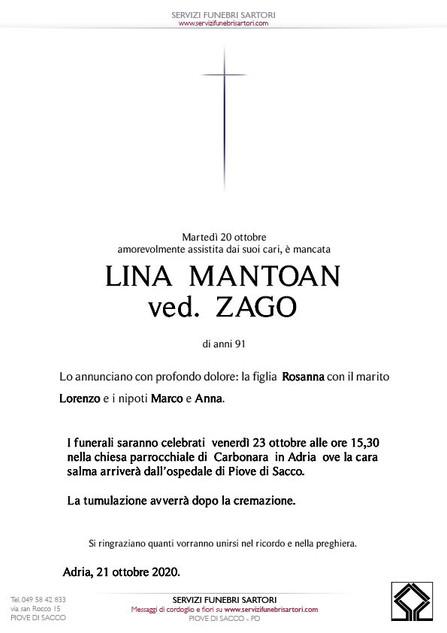 Mantoan  Lina  Zago