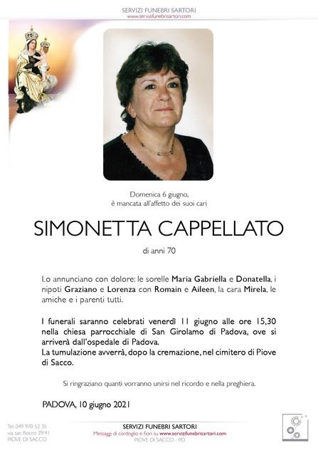 Cappellato Simonetta