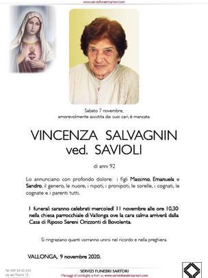 Salvagnin Vincenza Savioli