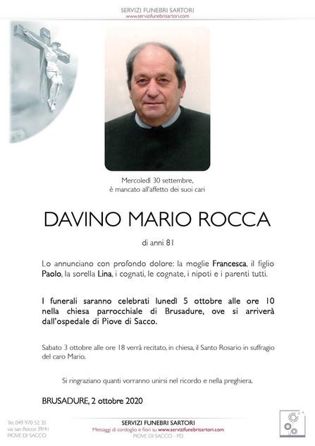 Rocca Davino Mario
