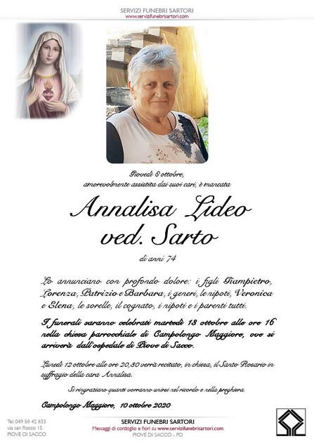 Lideo Annalisa Sarto