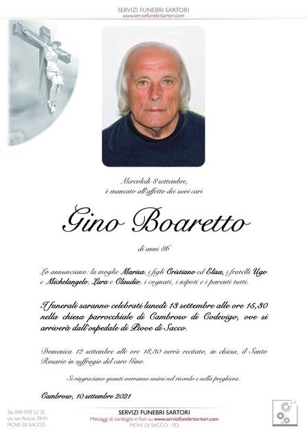 Boaretto Gino