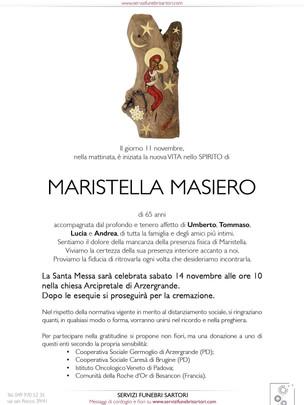 Masiero Maristella