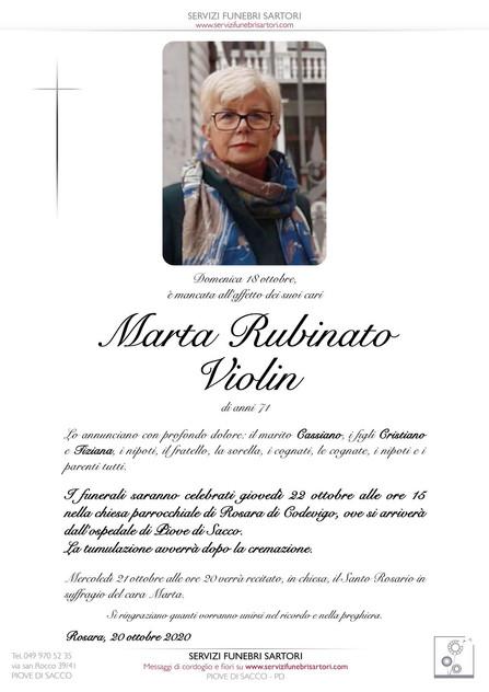 Rubinato Marta Violin