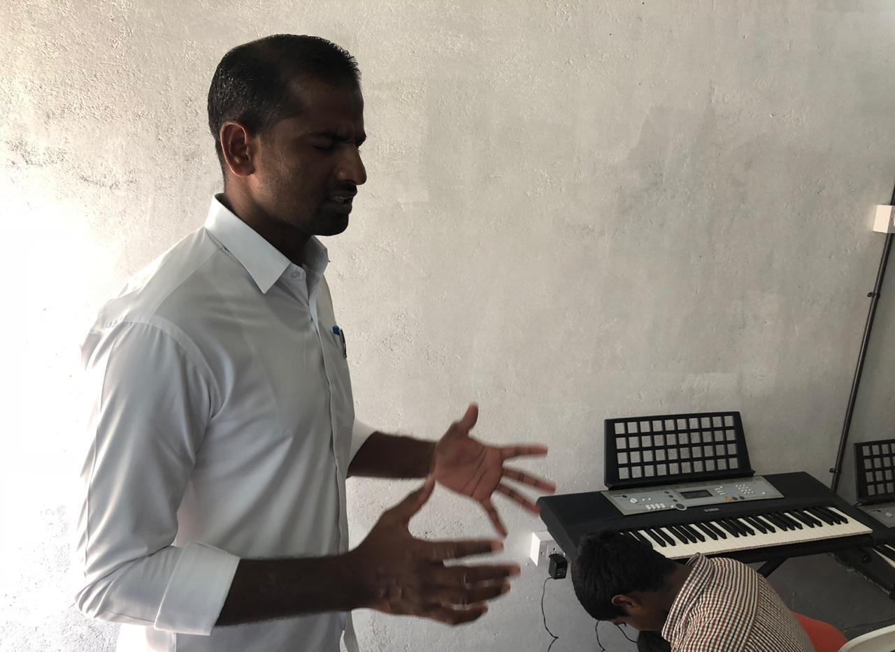 Prayer Before Music Lessons