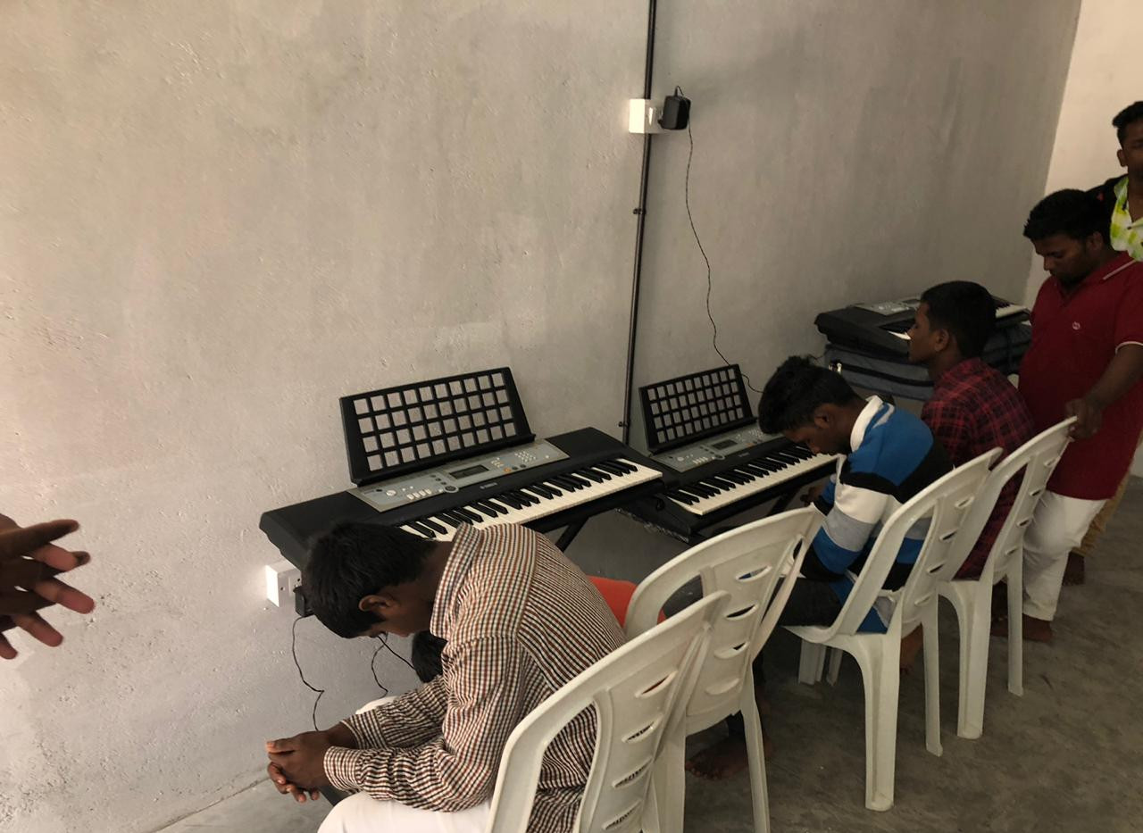 Praying Before Music Lessons