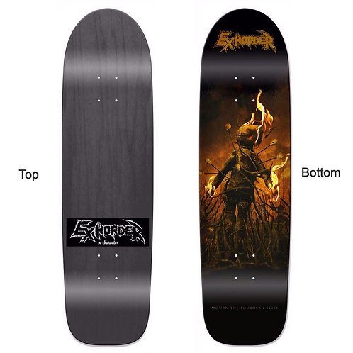 *PRE-ORDER* Roundnose Skateboard Deck Mourn the Southern Skies