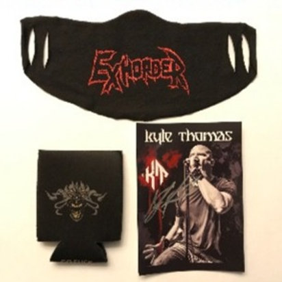 Koozie/Face Cover/Signed KT Card Bundle