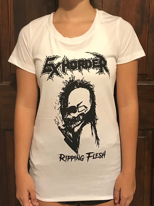 Ripping Flesh ladies T-shirt