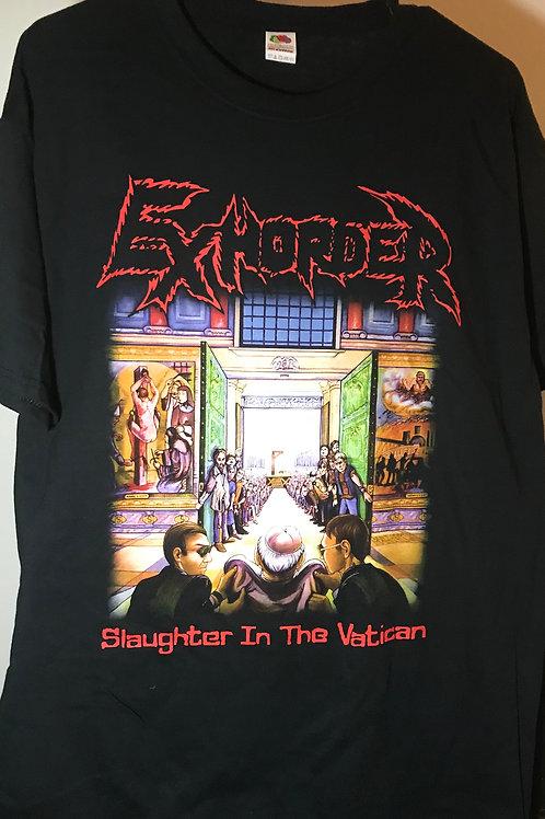 Slaughter in theVatican '90 album shirt