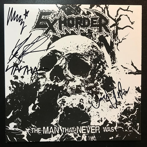 "Autographed vinyl 7"" The Man ""That Never Was"""