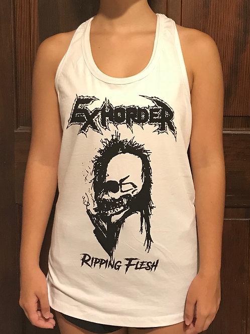 Ripping Flesh ladies tank top
