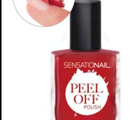 Sensationail Peel off Polish - How To
