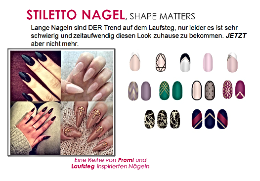 Fing'rs Stiletto Nagel