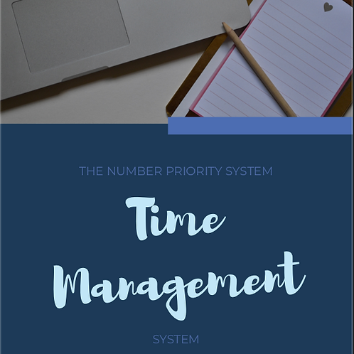 Number Priority Time Management System