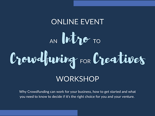 Intro to Crowdfunding Workshop Replay