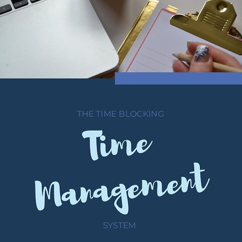 Time Blocking Time Management System