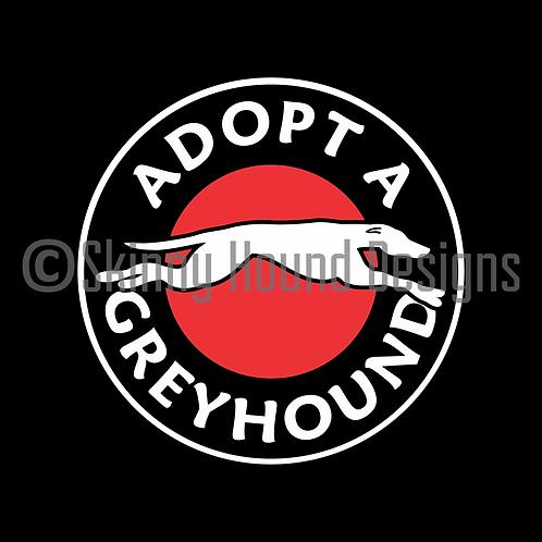 """""""Adopt a Greyhound"""" Magnet"""