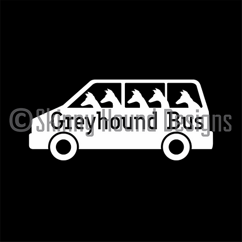 Greyhound Bus Decal