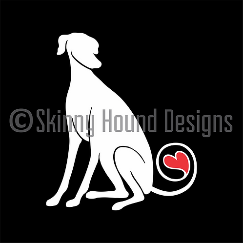 Galgo Decal