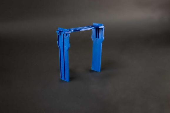 Apide Rähmchen blau/ hitzebeständig