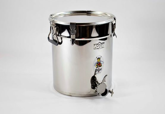 Abfüllbehälter aus Edelstahl 35 Kg