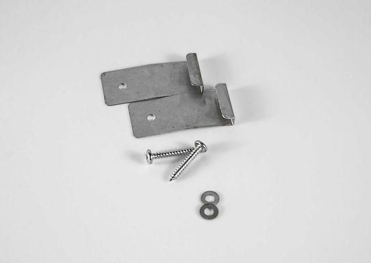 Fluglochkeil-Halter-Set aus Federstahl