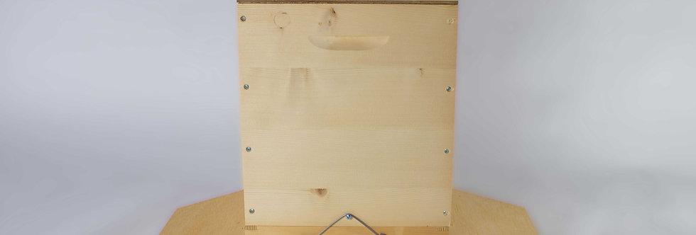 CH-Ablegerkasten mit Futterzarge und Blechdeckel