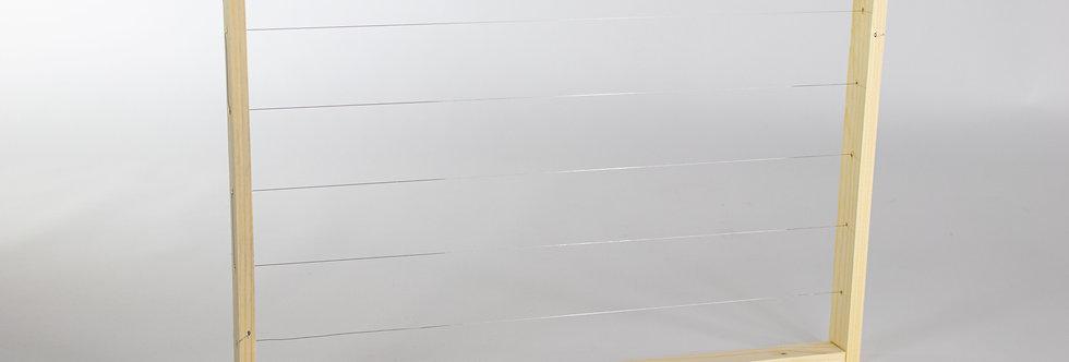 Dadant Modifiziert Bruträhmchen mit geraden Seitenteile
