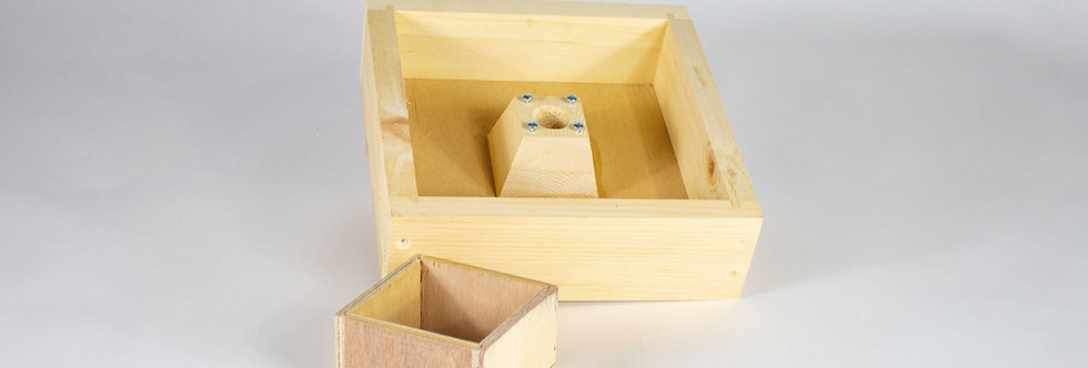 Mini Plus Futterzarge Holz
