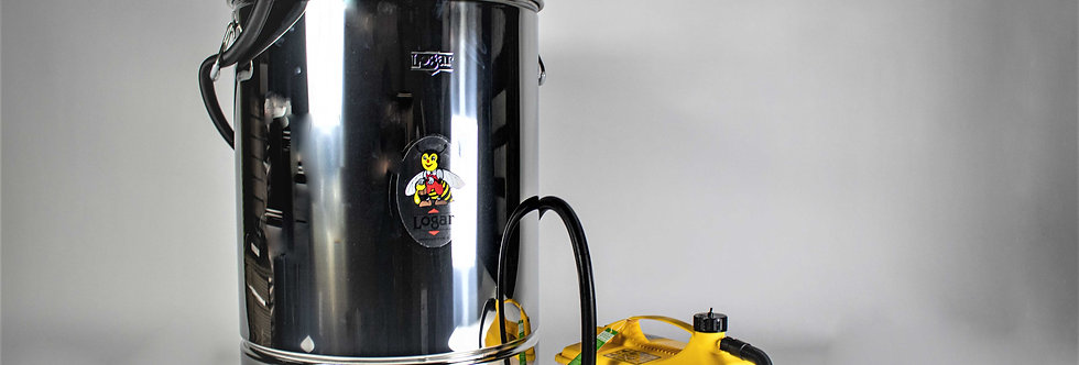 Wachsschmelz-Behälter mit oder ohne Dampfgerät