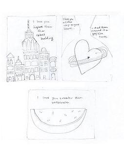 Original Sketchbook Sketches