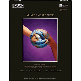 Quality Velvet Fine Art Paper