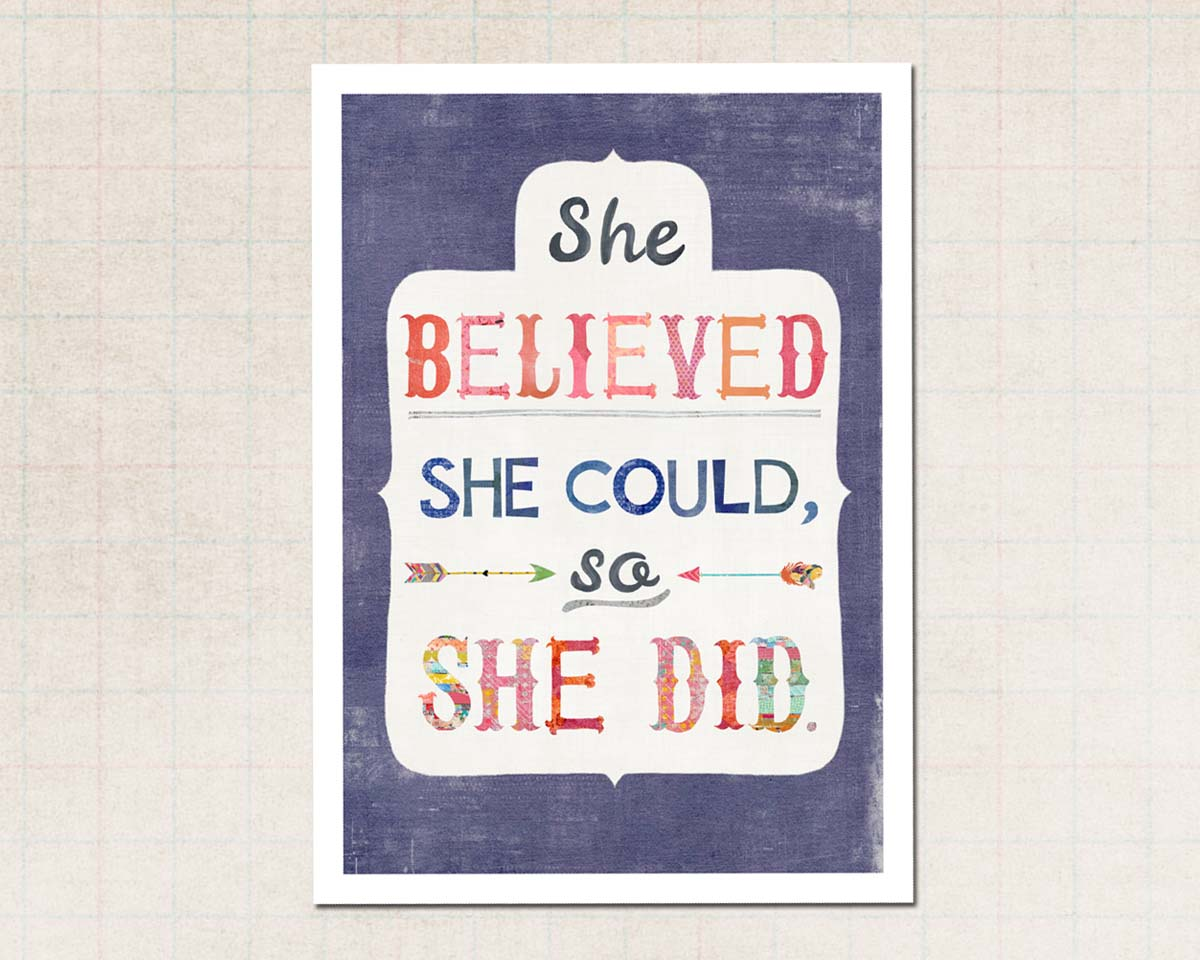 She Believed Insta