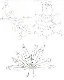 Sketchbooks birds